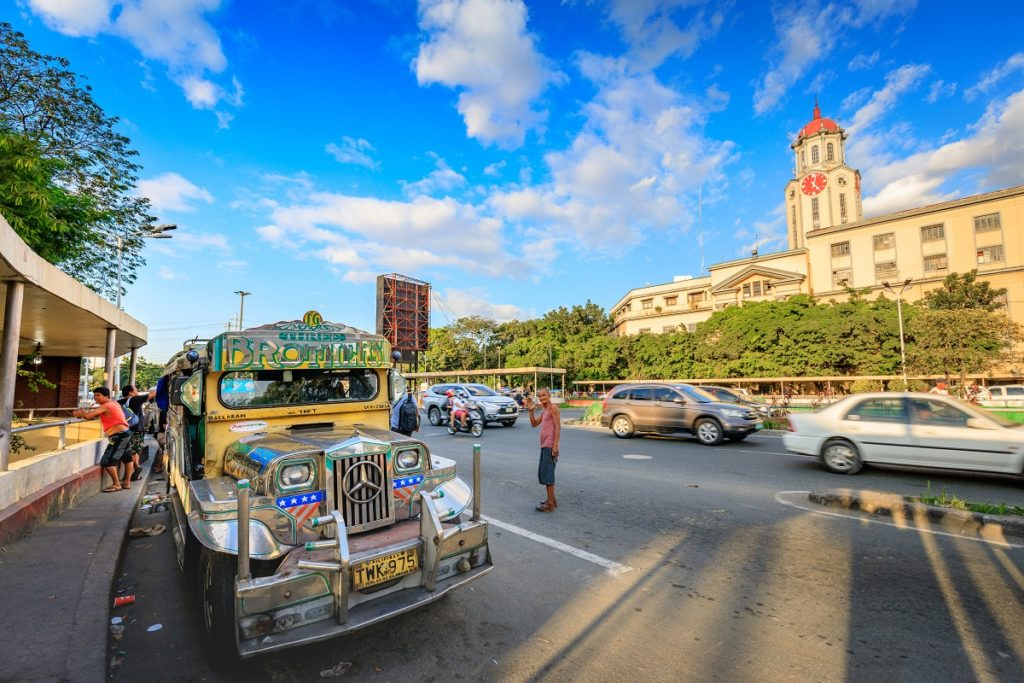 Jeepney in Manila City