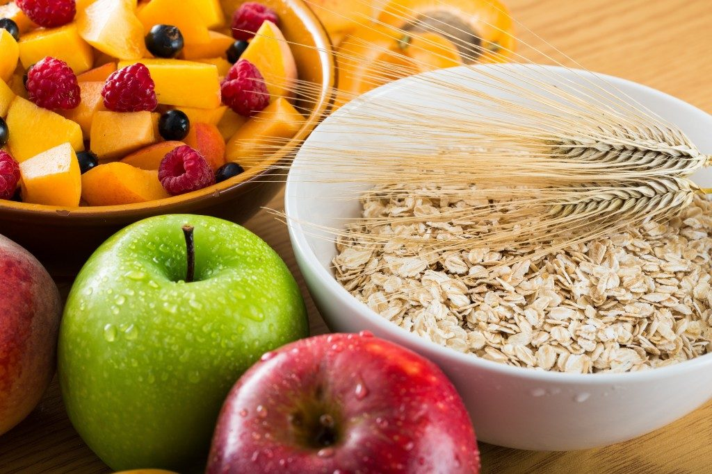 Healthy fiber rich food