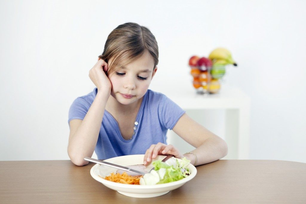 child with eating problem