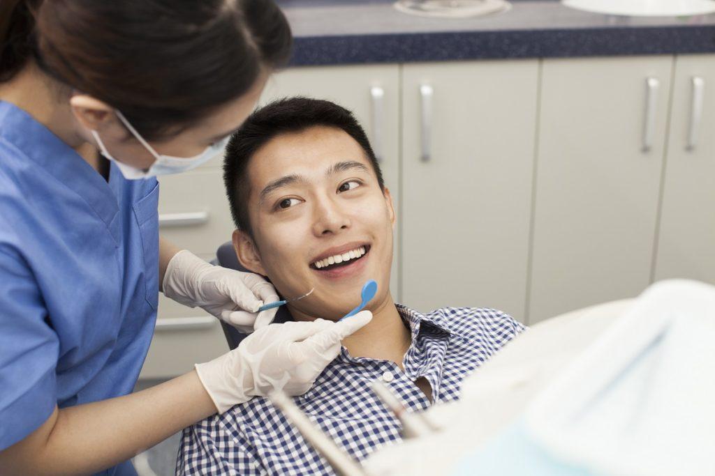 teeth cleening